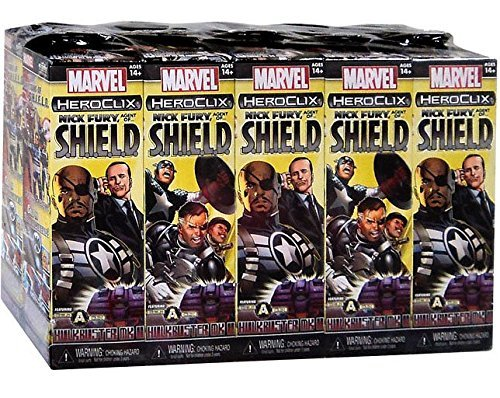Wizkids Marvel HeroClix: Nick Fury, Agent of SHIELD Booster