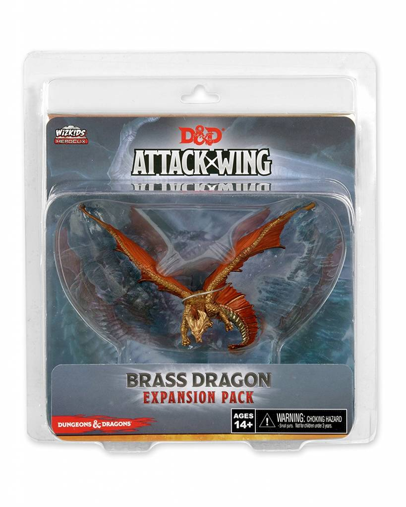Wizkids D&D Attack Wing: Brass Dragon Expansion Pack
