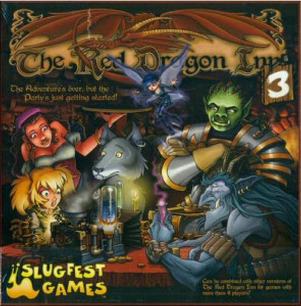 Slugfest Red Dragon Inn: 3 (stand alone and expansion)