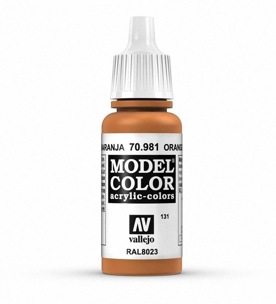 Vallejo Vallejo Model Color : Orange Brown 70.981