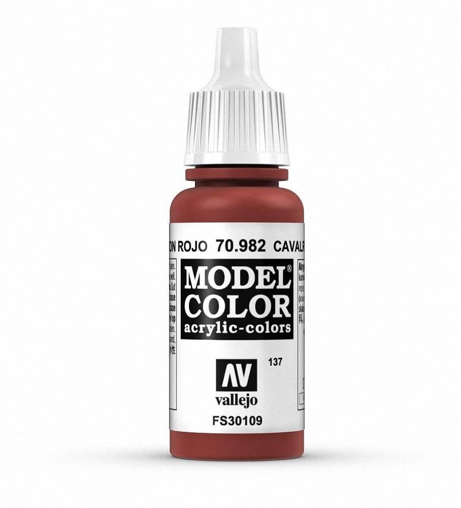 Vallejo Vallejo Model Color : Cavalry Brown 70.982