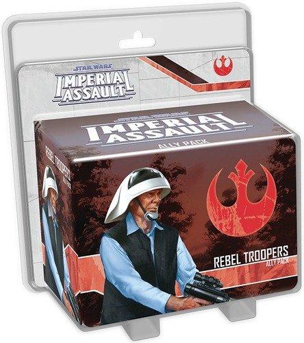 Fantasy Flight STAR WARS Imperial Assault: Rebel Troopers Ally Pack