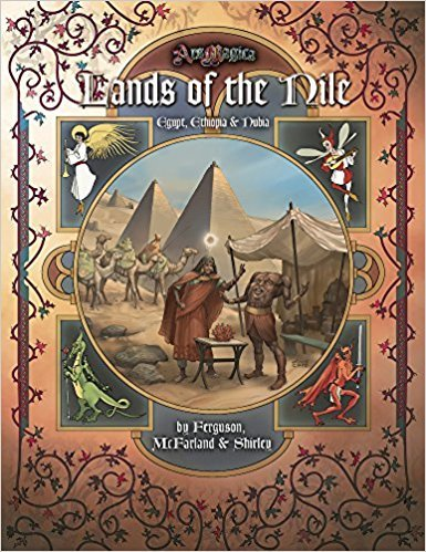 Atlas games Ars Magica: Lands of the Nile