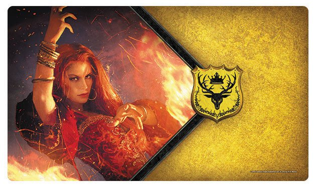 Fantasy Flight A Game of Thrones LCG Playmat: Red Woman