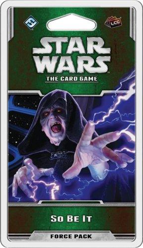 Fantasy Flight Star Wars LCG: So Be It Force Pack