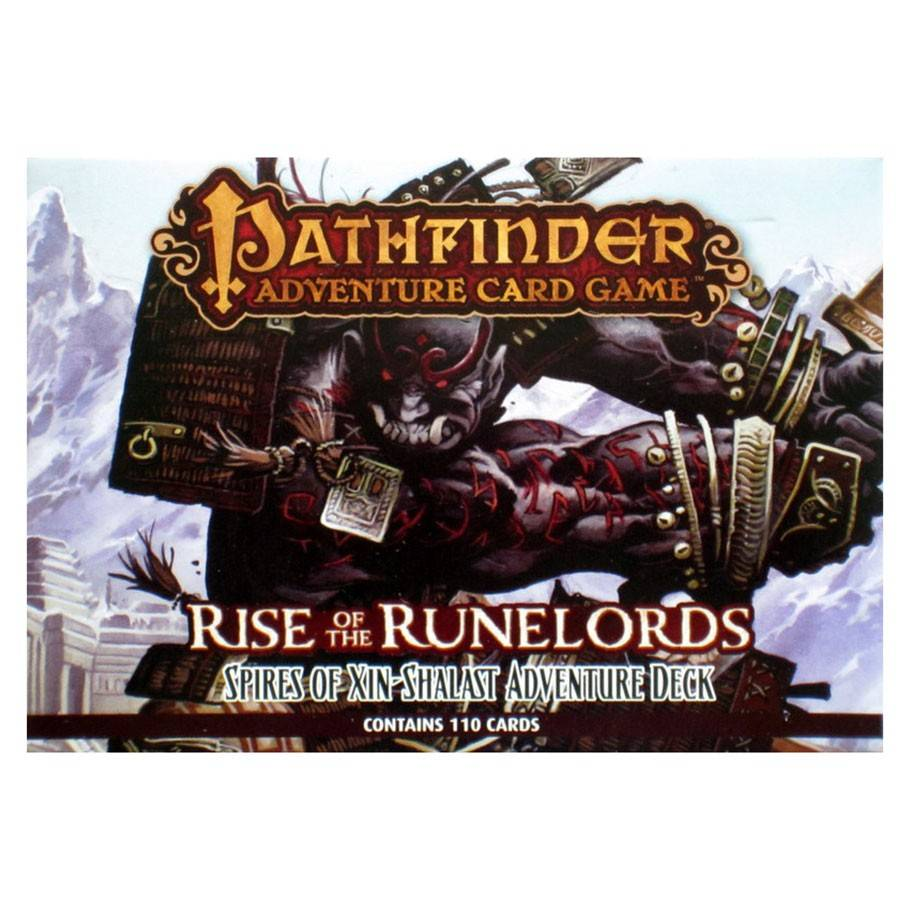 Paizo Pathfinder Adventure Card Game: Rise of the rune lords- Spires of Xin-Shalast #6