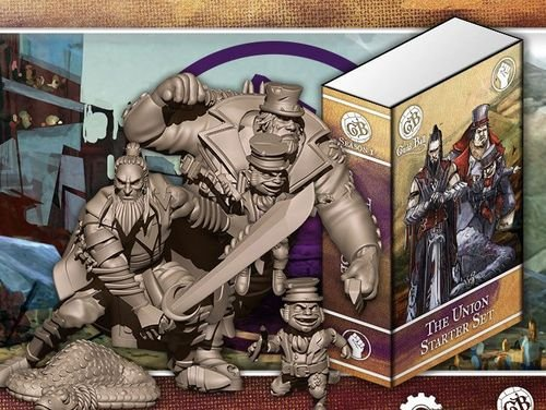 Steamforged GuildBall: The Union Starter Set