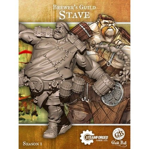 Steamforged GuildBall: Brewer's Guild- Stave