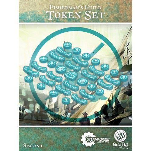 Steamforged GuildBall: Fisherman's Guild Token Set