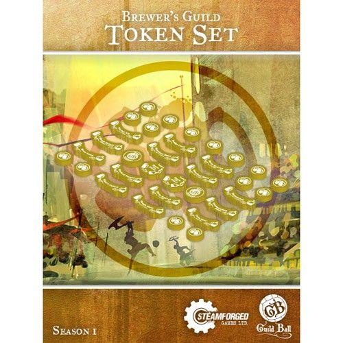 GuildBall: Brewer's Guild Token Set