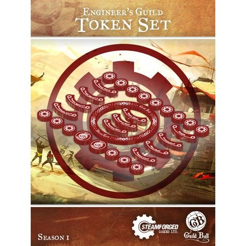 Steamforged GuildBall: Engineer's Guild Token Set