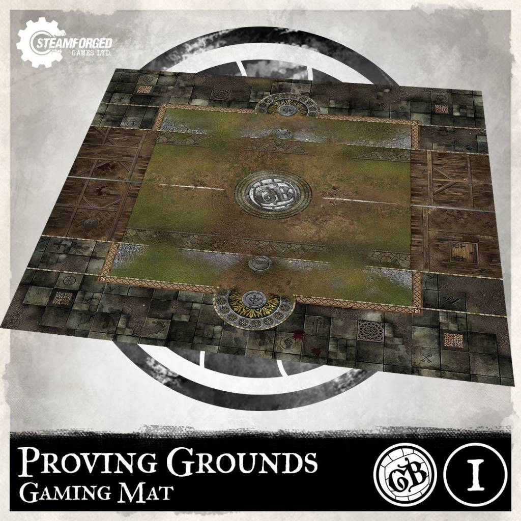 Steamforged GuildBall: Proving Grounds Playmat