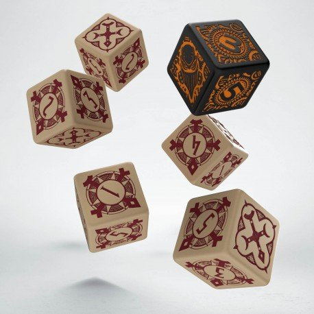 Q workshop Warmachine Protectorate of Menoth Faction Dice Set (6)