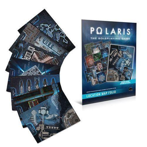 Black Book Editions Polaris RPG: location map folio