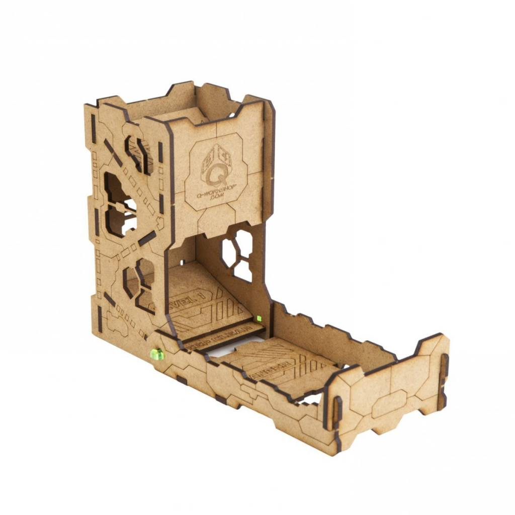 Tech dice tower large