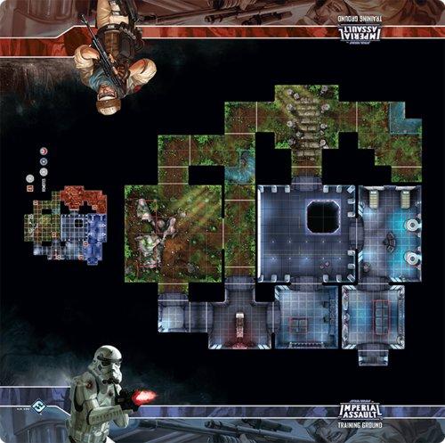 Fantasy Flight STAR WARS Imperial Assault: Training Ground playmat