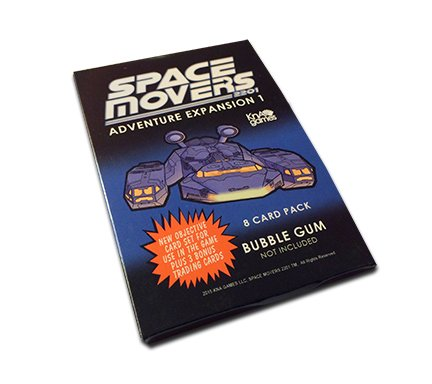 Kna Games Space Movers 2201: Adventure expansion 1