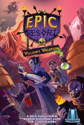 Floodgate games Epic Resort: Villains Vacation