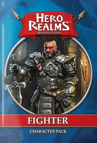 White wizard games Hero Realms DBG Character Pk: Fighter