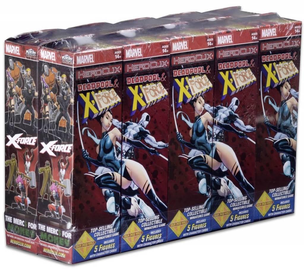 Wizkids Marvel Heroclix: Deadpool & X Force Booster