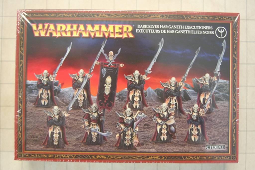 Warhammer Fantasy Warhammer: Dark Elves Har Ganeth Executioners