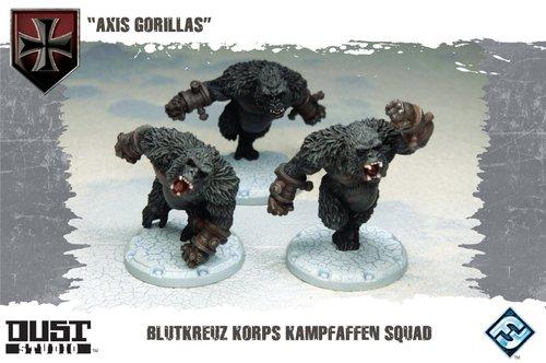 Dust Tactics Dust Tactics: Blutkreuz Korps Gorilla Squad
