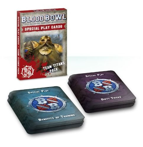 Blood Bowl Special PlayCards Team Titans Pack