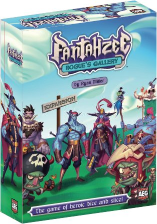 AEG Fantahzee Expansions Rogue's gallery