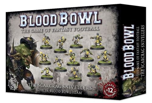 Games Workshop Blood Bowl: The Scarcrag Snivellers Goblin Team