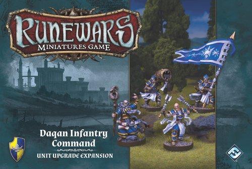 Fantasy Flight Runewars: Daqan Infantry Command