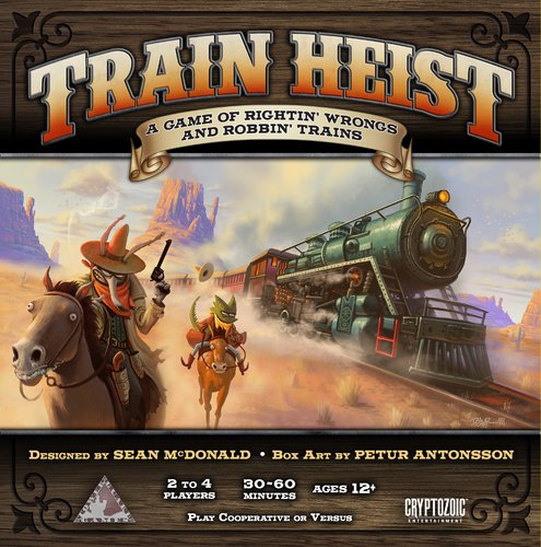 Cryptozoic Train Heist