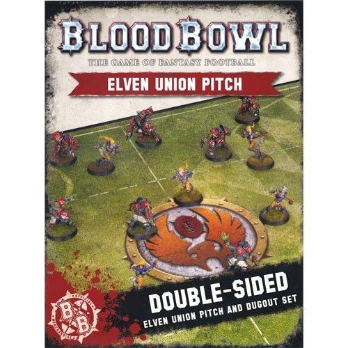 Blood Bowl: Elven Union Pitch & Dugouts