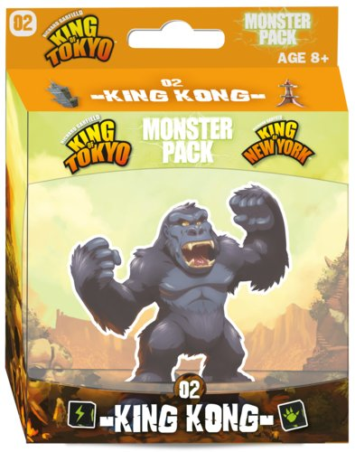 Iello King of Tokyo King of New York Monster Pack 02 King Kong