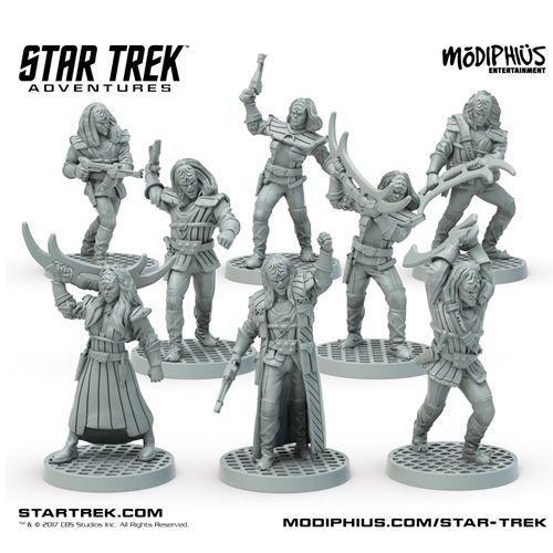 Modiphius Star Trek Adventures Miniatures: Klingon Warband