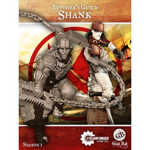 Steamforged GuildBall: Butchers guild- Shank