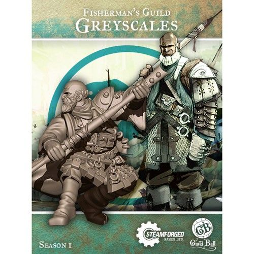 Steamforged GuildBall: Fishermans Guild- Greyscales