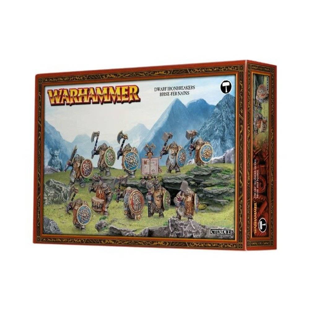 Warhammer Fantasy DWARF IRONBREAKERS