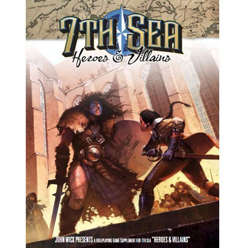 John wick 7th Sea RPG: 2nd Edition - Heroes and Villains Hardcover