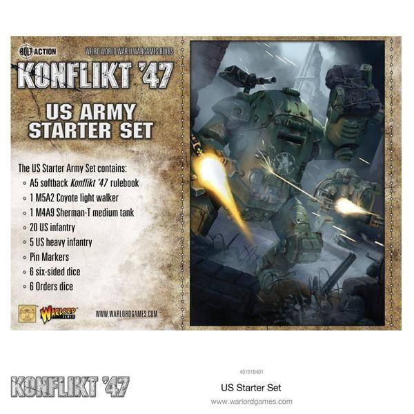 Warlord games Konflikt '47: US- Army Starter Set