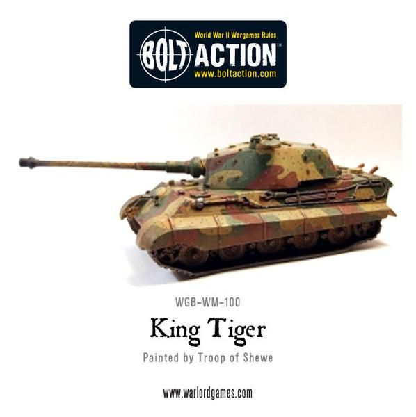 Warlord Game Bolt Action: King Tiger Tank
