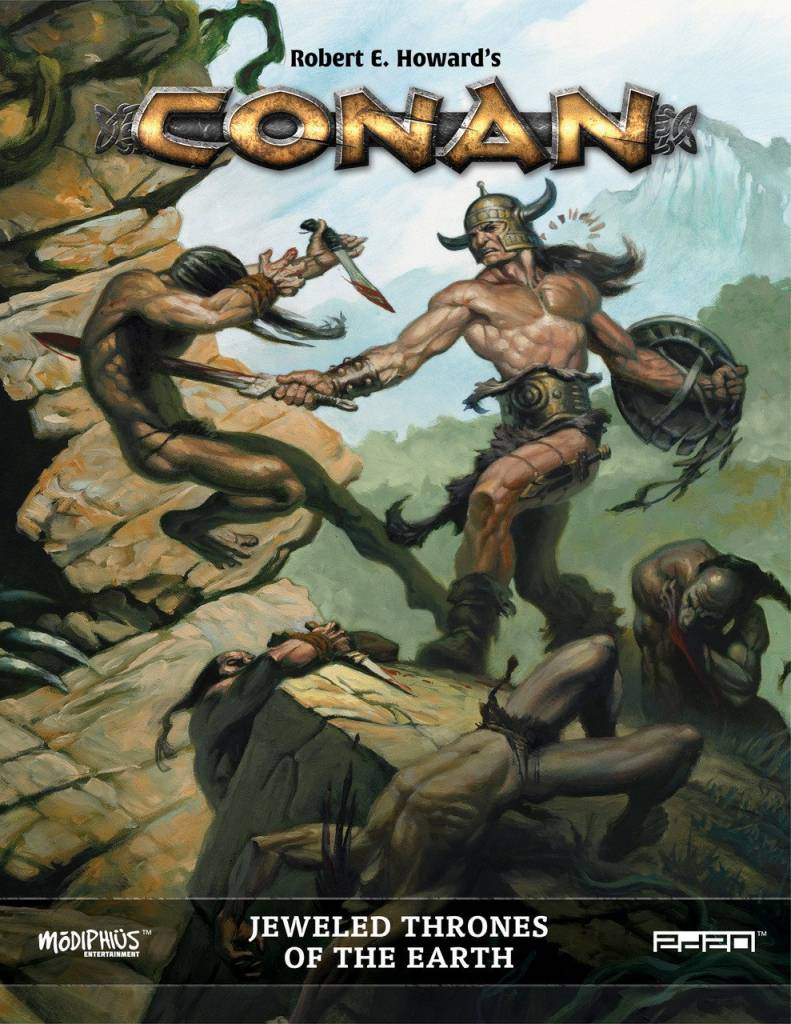 Modiphius Conan RPG:  Jeweled Thrones of the Earth