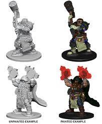 Wizkids Pathfinder Miniatures: Elf Female Bard (2)