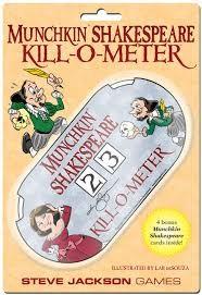 Steve Jackson Munchkin: Shakespeare- Killometer