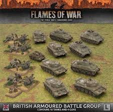 Flames of War FOW : British Armoured Battle Group