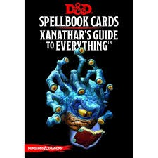 Gale Force Nine D&D RPG Spellbook Cards: Xanathar's Guide