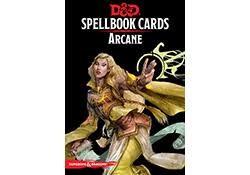 Gale Force Nine D&D RPG Spellbook Cards: Arcane