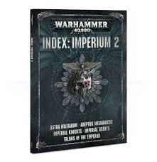 Games Workshop Warhammer 40K Index Book: Imperium 2