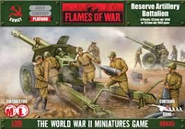 Flames of War Flames of War: Soviet- Reserve Artillery Battalion (mid-late)