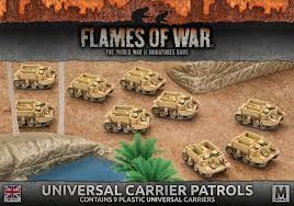 Flames of War FOW : Universal Carrier Patrols