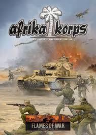 Flames of War FOW : Afrika Korps Book (Hard Cover)